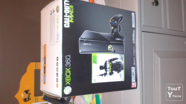 xbox 360 neuve 250 gb avec pack mw3 call of duty console de salon tubize bruxelles. Black Bedroom Furniture Sets. Home Design Ideas