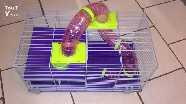 image Vend cage hamster