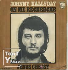 "image RARE COLLECTIONNEUR  - 45T Vinyl - Johnny Hallyday ""Jésus Christ"" de 1970"