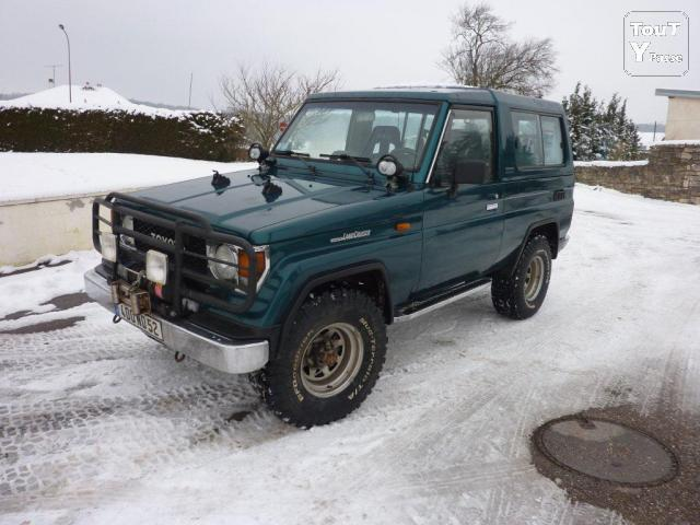 image Vends 4x4 toyota