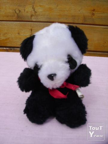 image PELUCHES DIVERSES « Panda » « Lapin » « Ourson »