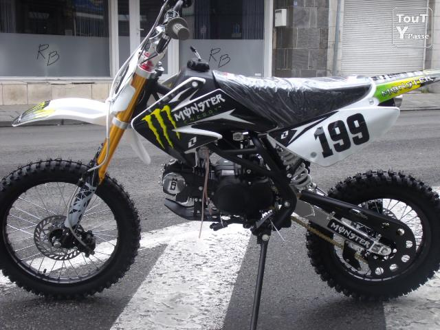 image  Neuf Dirt bike BSE 125CC 14/17 New Modele !!