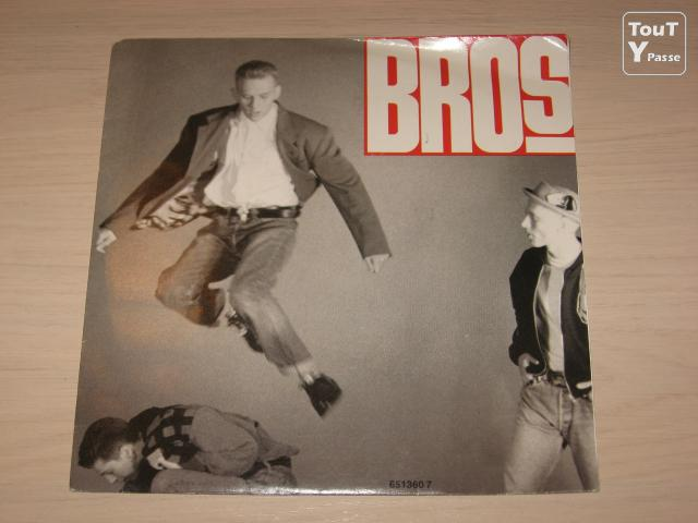 image Disque vinyl 45 tours bros drop the boy