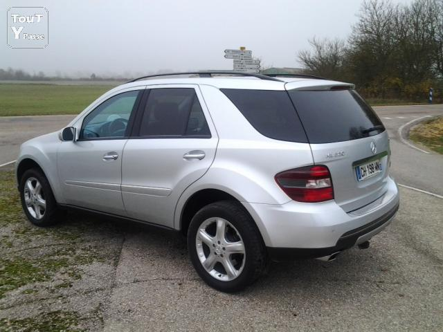 image Vend mercedes ml 320 cdi gris metal automatique