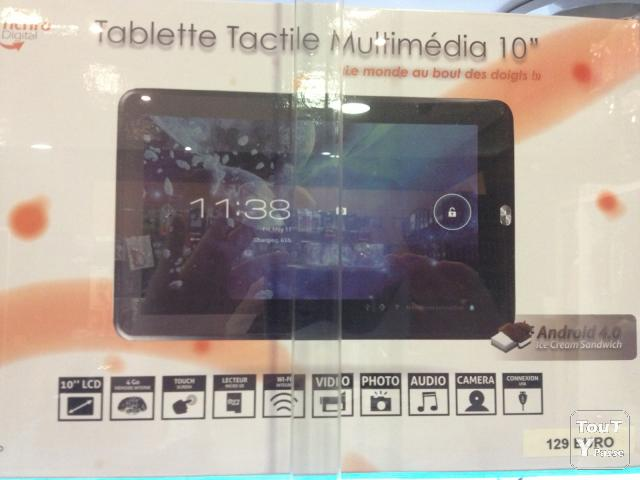 image  TABLETTE 10 POUCES 4GB PHOTO/VIDEO/AUDIO/MP3/WIFI