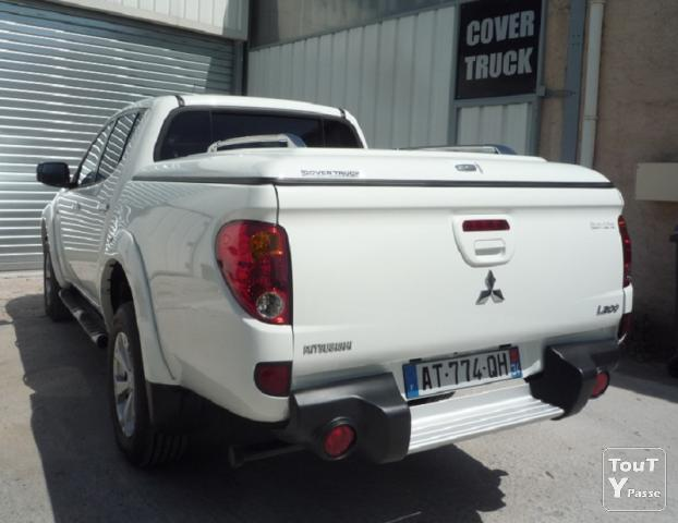 image COVER TRUCK , Couvre benne MITSUBISHI TRITON double cab