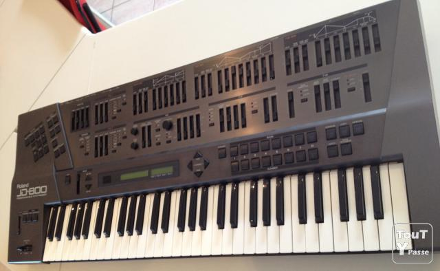 image Clavier Synthétiseur Roland JD-800