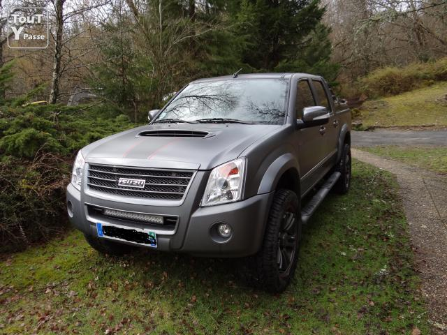 image Vends pick up Isuzu