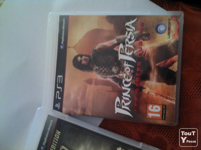 image JEUX PS3 LOT MAX PANE 3, FAR CRY 2, PRINCE OF PERSIA 2
