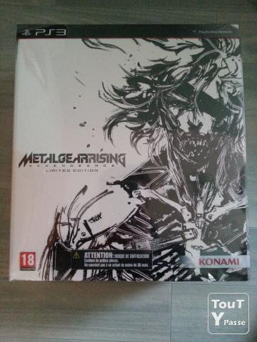 image Metal Gear Rising Collector NEUF sur PS3