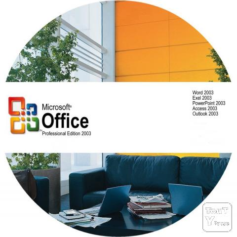 image Microsoft Office 2003 Professionnel
