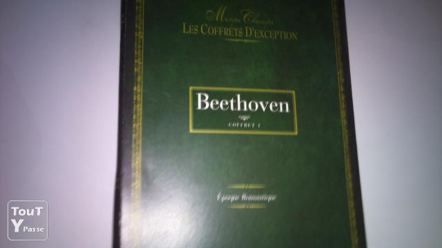 photo de 2 COFFRETS DE BEETHOVEN + VIVALDI