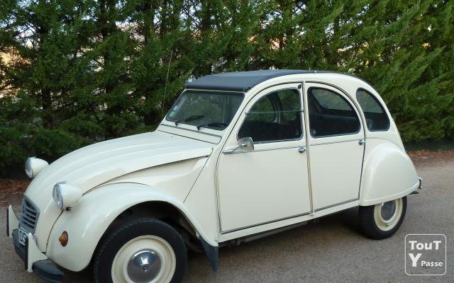 2 cv voiture de collection montpellier 34000. Black Bedroom Furniture Sets. Home Design Ideas