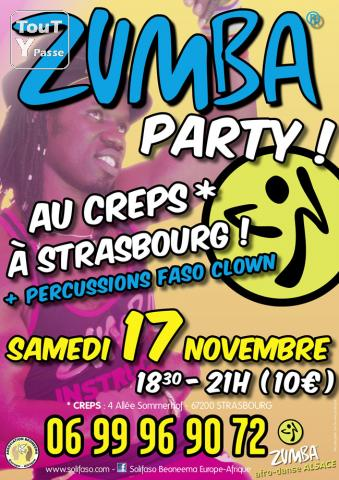 photo de 2h30 de Zumba Party samedi 17 novembre 2012 à Strasbourg - Association Beoneema