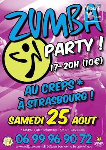 photo de 3h de Zumba Party le 25 août 2012 à Strasbourg - Association Beoneema