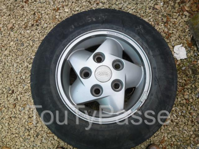photo de 5 jantes Land Rover alu