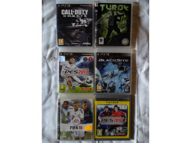 photo de 8 euros le lot de 6 jeux de ps3(lot n° 1)