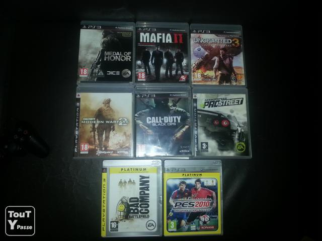 photo de 8 jeux ps3