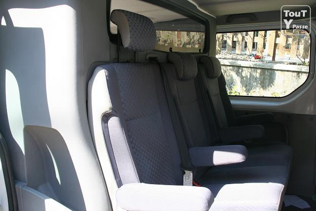 a saisir banquette 3 places cabine approfondie pour renault trafic jura. Black Bedroom Furniture Sets. Home Design Ideas