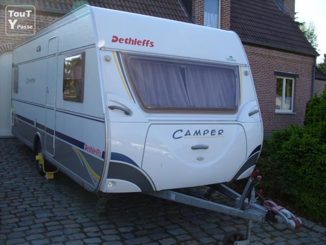 a vendre caravane dethleffs camper 510db. Black Bedroom Furniture Sets. Home Design Ideas