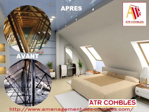 am nager combles perdus paris 75 77 78 91 92 atr amenagement le de france. Black Bedroom Furniture Sets. Home Design Ideas