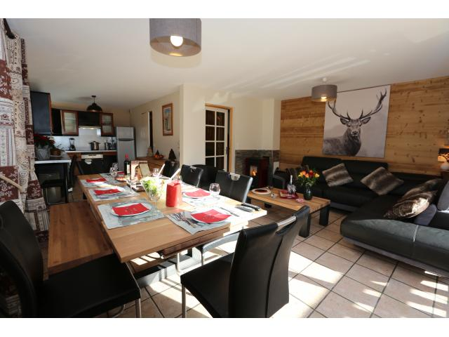 photo de Appt dans chalet 8/13 pers