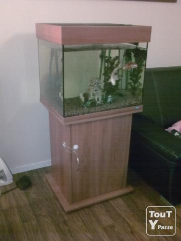 aquarium 180 litres en colonnes avec meubles essonne. Black Bedroom Furniture Sets. Home Design Ideas