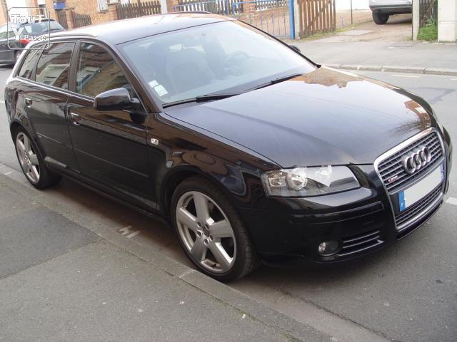 audi a3 sportback s line 170cv tdi s tronic nord. Black Bedroom Furniture Sets. Home Design Ideas
