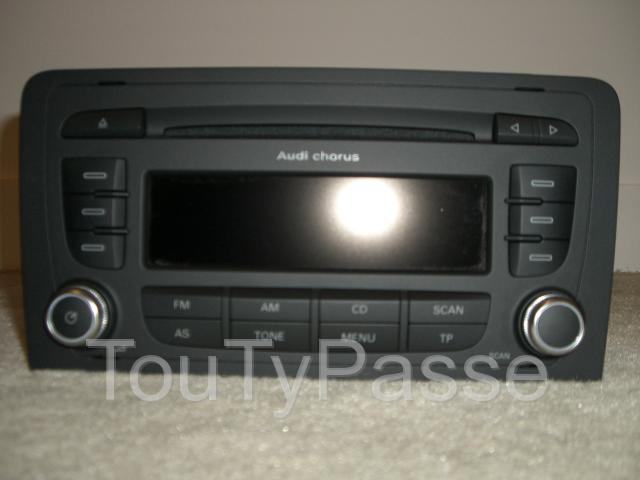 autoradio blaupunkt pour audi a3 montesson 78360. Black Bedroom Furniture Sets. Home Design Ideas