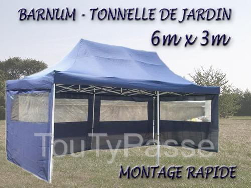 barnum tonnelle de jardin 6x3 montage rapide neuf sarthe. Black Bedroom Furniture Sets. Home Design Ideas