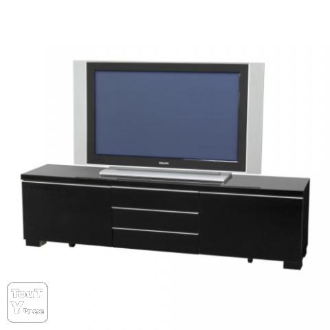 best burs banc tv brillant noir meuble ikea occasion saisir le de france. Black Bedroom Furniture Sets. Home Design Ideas
