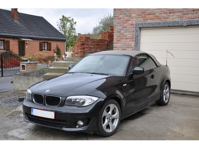 bmw 118d cabriolet occasion pas cher floreffe 5150 annonces voitures d 39 occasion. Black Bedroom Furniture Sets. Home Design Ideas