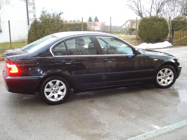 bmw 320 i pr f rence ann e 2004 noir 34420 kms excellent tat franche comt. Black Bedroom Furniture Sets. Home Design Ideas