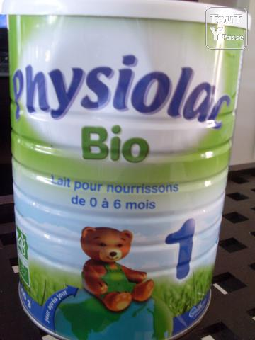photo de Boites de lait Physiolac Bio 1er age
