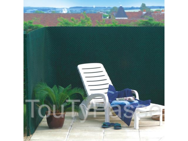 brise vue vert tandem 100 occultant pas cher languedoc. Black Bedroom Furniture Sets. Home Design Ideas