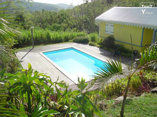 bungalow 36m2 avec piscine au diamant martinique