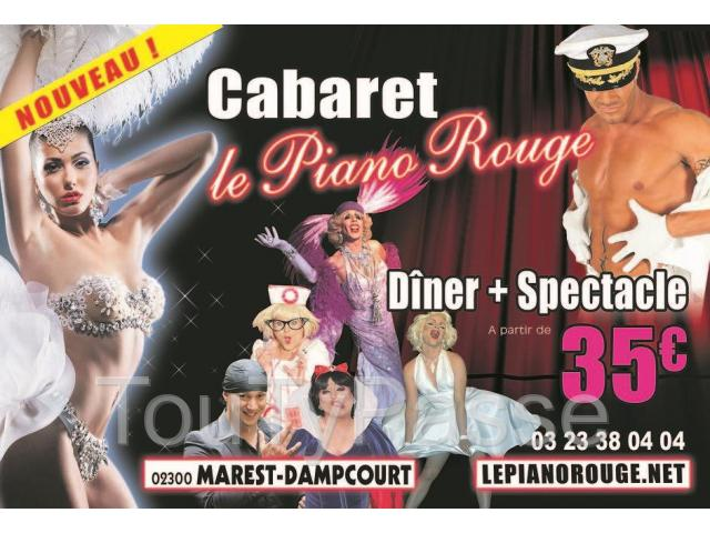 photo de Cabaret le Piano rouge à 02300 Marest-Dampcourt