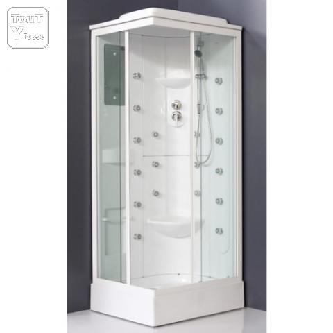Cabine de douche massage 70x90 cm - Douche massage cabine ...