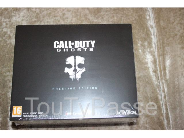 photo de Call of Duty: Ghosts édition prestige PS3 NEUF