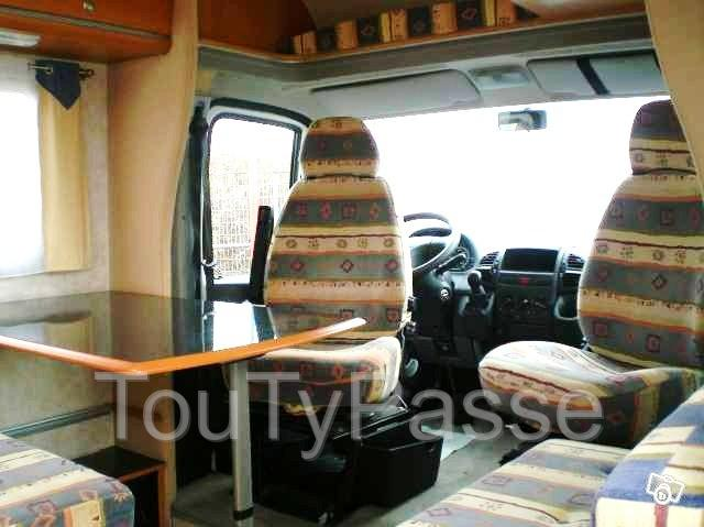 camping car pilote pacific 8 b thune 62400. Black Bedroom Furniture Sets. Home Design Ideas