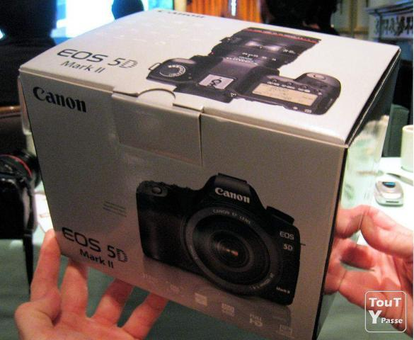 photo de Canon EOS 5d Mark II 21MP DSLR appareil photo