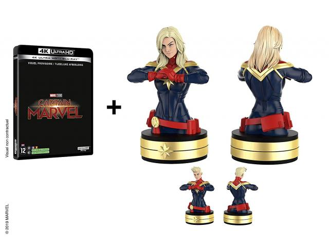 photo de Captain Marvel [coffret 4K + buste]