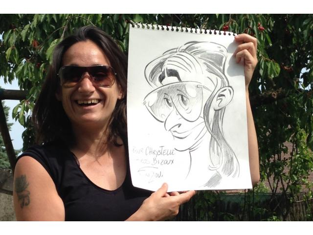 photo de Caricaturiste - animation évènementiel