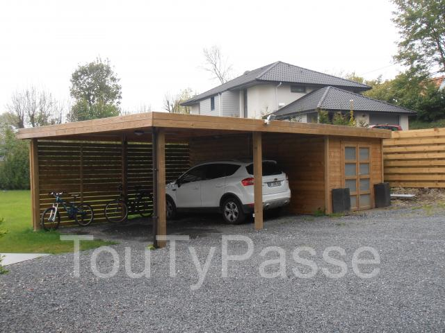 carport avec abri int gr hainaut. Black Bedroom Furniture Sets. Home Design Ideas