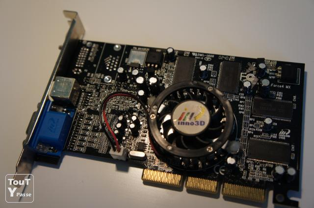 photo de Carte graphique AGP Inno3D Tornado GeForce4 MX