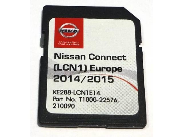 carte sd gps nissan connect 1 lcn1 2015 original tours 37000. Black Bedroom Furniture Sets. Home Design Ideas