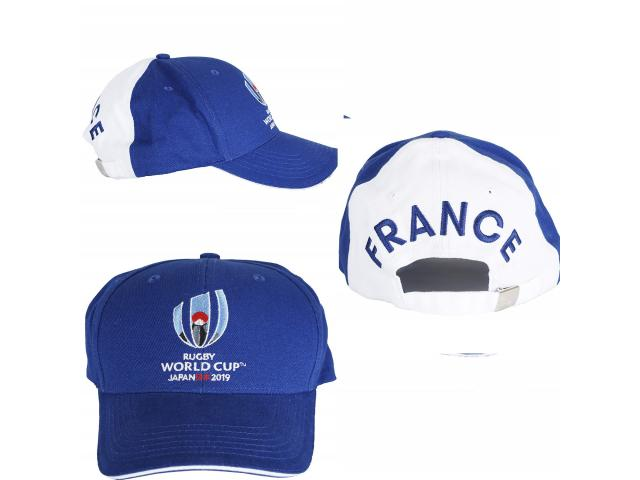 photo de Casquette  (bleue) France - Coupe du Monde DE Rugby 2019