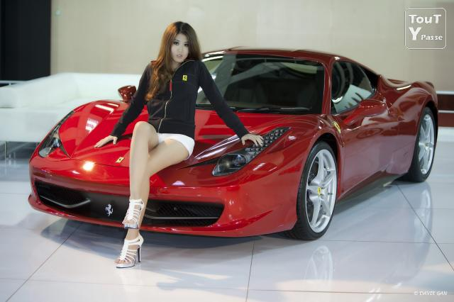 photo de CAsting Ferrari  CARLINA 2013