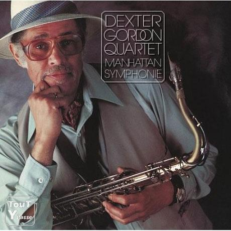 photo de CD de Dexter Gordon Manhattan symphonie