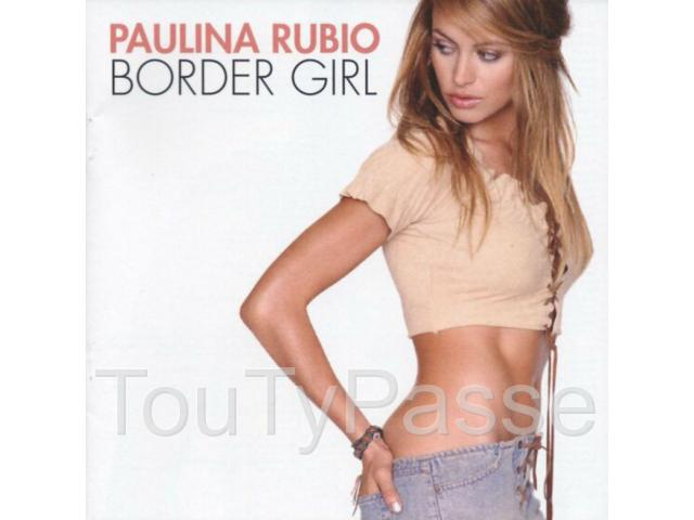 photo de CD de Paulina Rubio Border girl